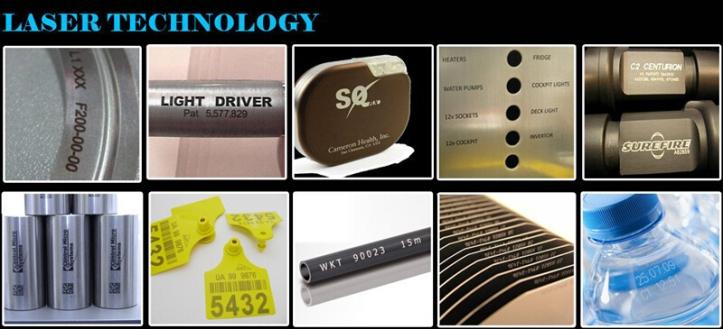 ejemplos de marcado grabado láser