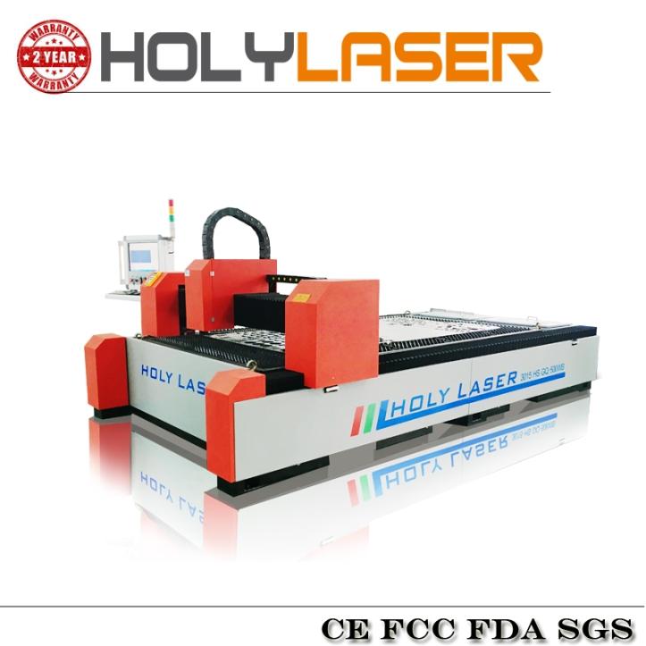 Cortadora metal laser fibra de 300x1500 milimetros de area corte. potencia opcional 500W/ 600W/1000W