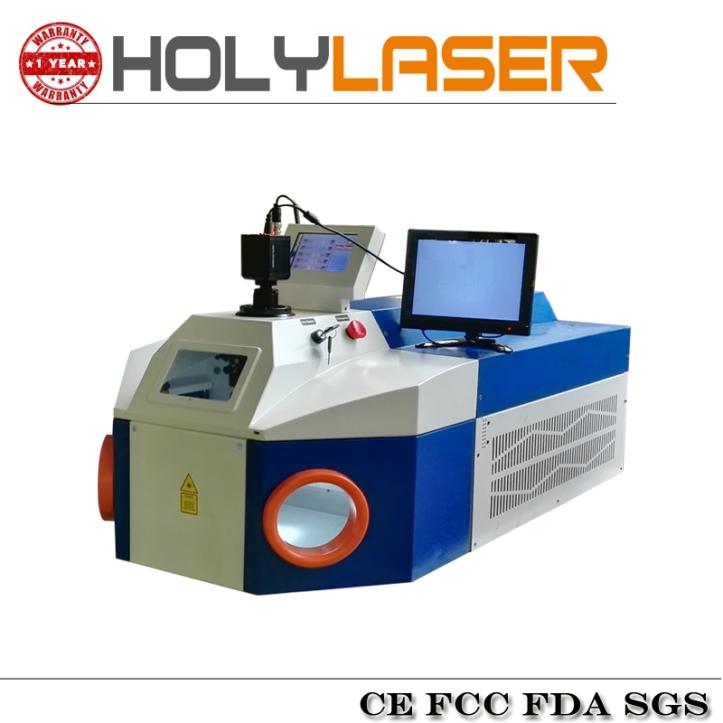 Soldadora fibra láser metal con sistema digital de visión. Alpha-180