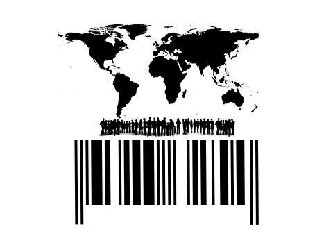 marcado de productos con códigos de barras