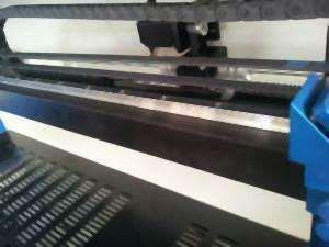 Sistema origen Japón de guias CNC para el cabezal