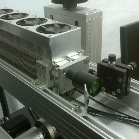 fuente laserCO2 RF sellado metálico